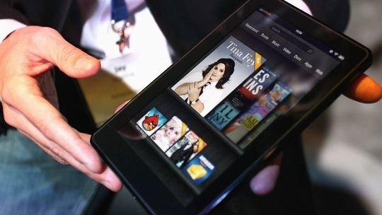 Amazon - Kindle Fire kommt im 10.1 Zoll Format