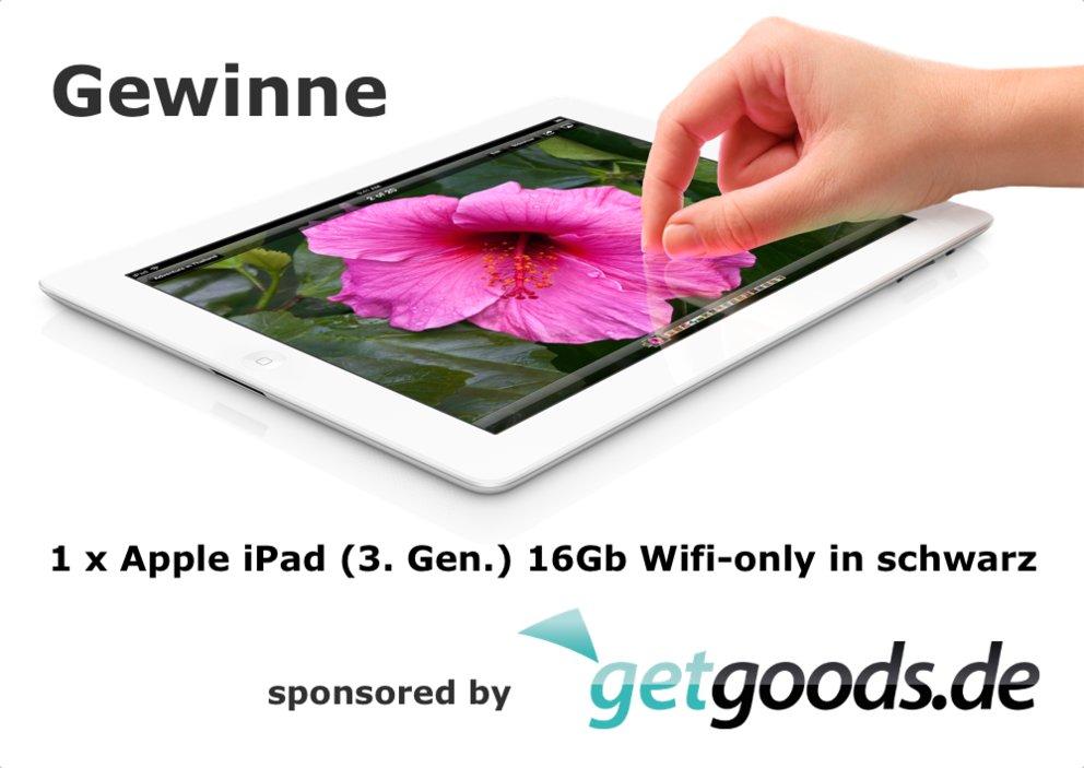 Gewinnspiel: Gewinne ein neues Apple iPad (3. Generation)  - Update: Ausgewertet!