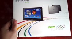 Erstes Unboxing Video des Acer Iconia Tab A510