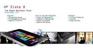 Windows 8: HP ohne ARM-Tablets mit Windows RT