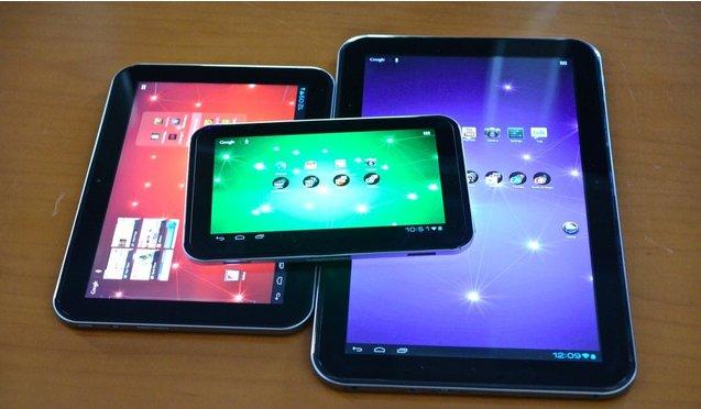 Toshiba Excite 7.7, 10 und 13: Drei neue Tablets vorgestellt