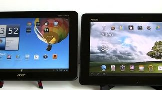 Vergleich: Acer Iconia Tab A510 vs Asus Transformer Pad TF300 (Video)