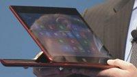 Intel präsentiert Slider-Ultrabooks-Prototypen