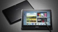Samsung Galaxy Note 10.1: So wirklich sicher ist nichts