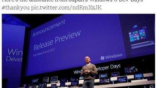 Windows 8 Release Preview erscheint in der ersten Juni Woche