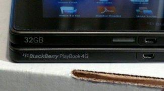 BlackBerry PlayBook 4G: Details zur Ausstattung