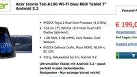Deal: Acer Iconia Tab A100 mit Dual Core CPU und Android 4.0 um nur 199€