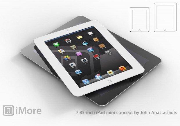 iPad mini samt Retina-Display und 7,85 Zoll groß?