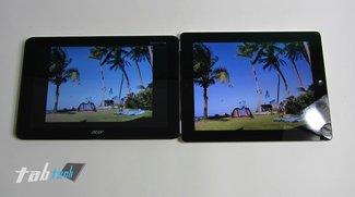 Apple iPad 3 vs. Acer Iconia Tab A510 -  deutscher Vergleich (Video und Fotos)
