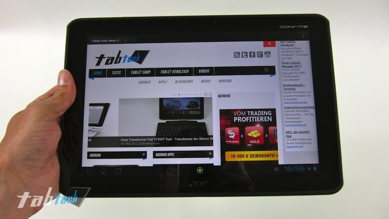 Acer Iconia Tab A700: Tablet samt Full HD Display im Preis gesenkt