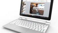 Acer Iconia Tab W510 ab 23. November bei Amazon & Co verfügbar - Update: Bereits auf Lager