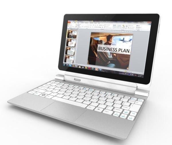 Acer Iconia Tab W510 mit Windows 8 und Tastatur Dock vorgestellt