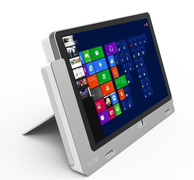 Acer Iconia Tab W700: 11,6 Zoll Full HD Tablet mit Windows 8 vorgestellt - Videos