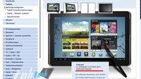 Samsung Galaxy Note 10.1 bei ersten Händler gelistet - ab Anfang Juli für ca. 499€
