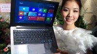 ASUS TAICHI: Tablet-Notebook-Hybrid mit zwei Bildschirmen