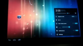 Android 4.1 Jelly Bean auf dem Acer Iconia Tab A500