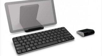 Windows 8: Microsoft präsentiert für Tablets ein Keyboard samt Standvorrichtung und weiteres Zubehör