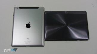 Vergleich: Asus Transformer Pad Infinity TF700T vs. new Apple iPad 3 und Transformer Pad TF300T