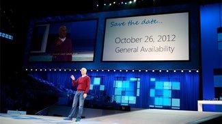 Microsoft Windows 8 erscheint am 26. Oktober 2012