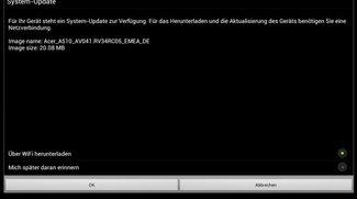 Acer Iconia Tab A510 erhält SW-Update - Performance Schub und bessere TouchScreen Reaktion