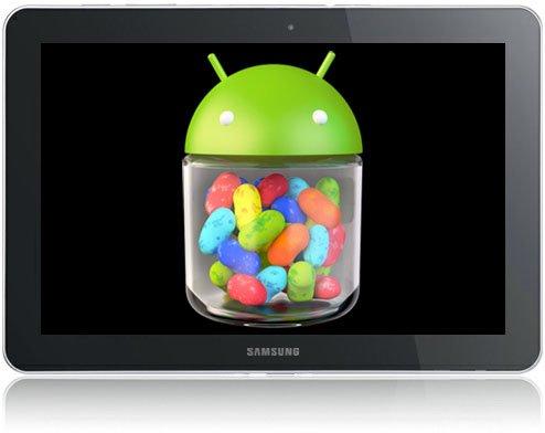 Samsung: Diese Tablet erhalten ein Update auf Android 4.1 Jelly Bean