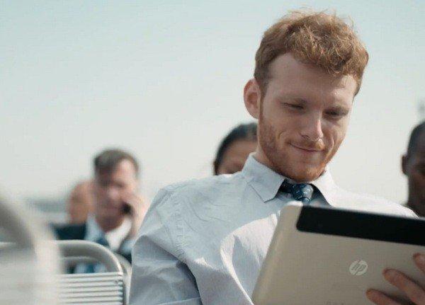 Zeigt HP in einem Werbeclip sein erstes Windows 8 Tablet? - Update: Neues Bild