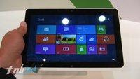 Acer Iconia Tab W510 im Kurztest auf der IFA (Bilder und Video)