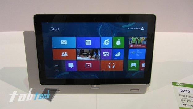Acer Iconia Tab W700 im Kurztest (Video und Bilder)