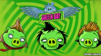 Green Day beehren Angry Birds Friends