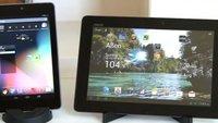 Vergleichsvideo: Google Nexus 7 vs. Asus Transformer Pad Infinity TF700T