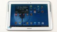Samsung Galaxy Note 10.1 jetzt auch als Wifi-only Version bei Amazon ab ca. 576€ auf Lager