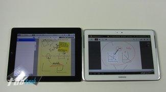 Vergleich: Samsung Galaxy Note 10.1 vs. Apple iPad 3