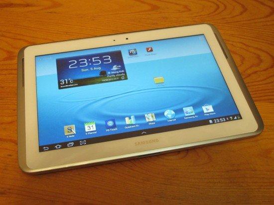Stiftung Warentest hält das Samsung Galaxy Note 10.1 für besser als das Apple iPad
