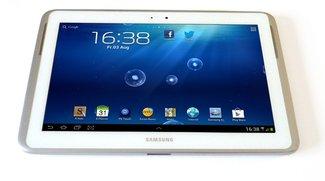 Samsung Galaxy Note 10.1: Ausführlicher Test samt Video von Base