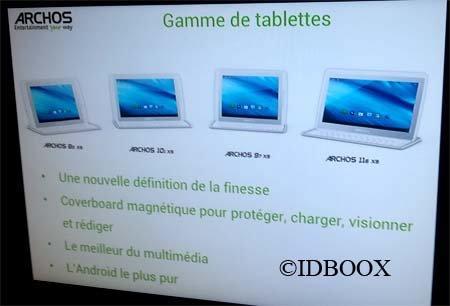 Archos 116 XS: 11,6 Zoll Tablet erscheint 2013 für unter 500 Euro