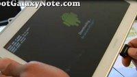 Samsung Galaxy Note 10.1: Kaum vorgestellt, schon gerootet