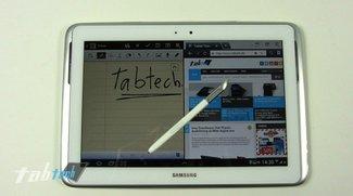 Samsung Galaxy Note 10.1: Deutsches Unboxing und Kurztest