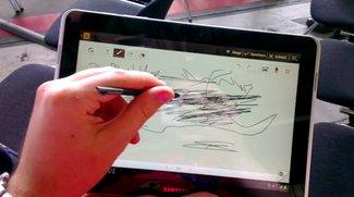 Samsung Galaxy Tab 2 10.1: Bedienung mit S-Pen möglich - Update