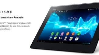 Sony Xperia Tablet S: vorbestellen und Tasche kostenlos erhalten