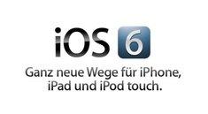 Apple stellt iOS 6 ohne große Überraschungen vor
