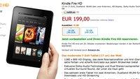 Amazon Kindle Fire und Kindle Fire HD 7 kommen ab 159€ nach Deutschland