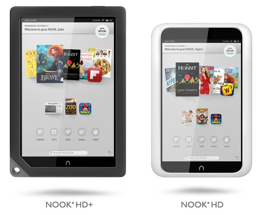 Barnes &amp&#x3B; Noble HD Tablets in Großbritannien erschienen