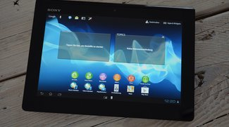Sony Xperia Tablet S: Erstes deutsches Unboxing