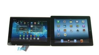 Sony Xperia Tablet S vs. iPad 3 (Video)
