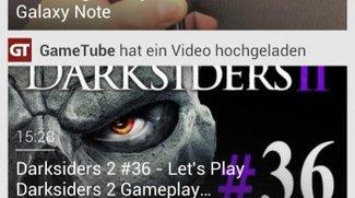 YouTube für Android mit neuer Oberfläche