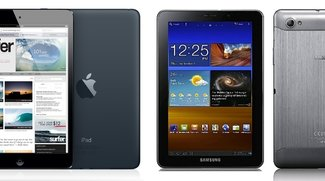 My two cents: Das iPad mini, ein Samsung Galaxy Tab 7.7 mit iOS?