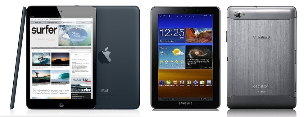 My two cents: Das iPad mini, ein Samsung Galaxy Tab 7.7 mit iOS?