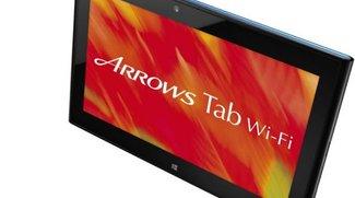 Fujitsu Arrows Tab QH55/J: Auch mit Windows 8 wasserdicht