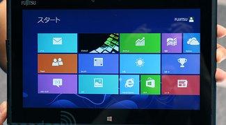 Fujitsu Arrows Tab samt Windows 8 zeigt sich auf der CEATEC in Tokio