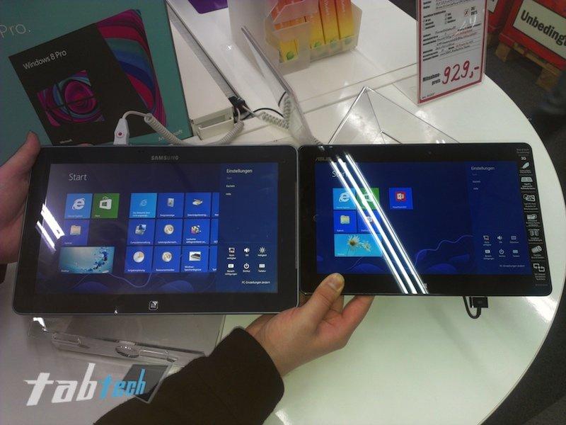 Samsung ATIV Smart PC vs. Asus Vivo Tab RT